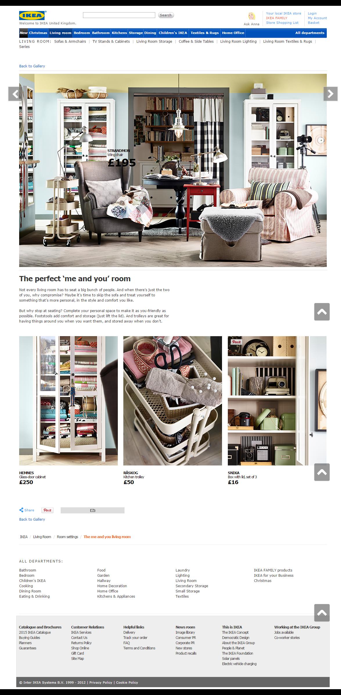 Ikea Com Living Room Inspiration Sarah Brownrigg