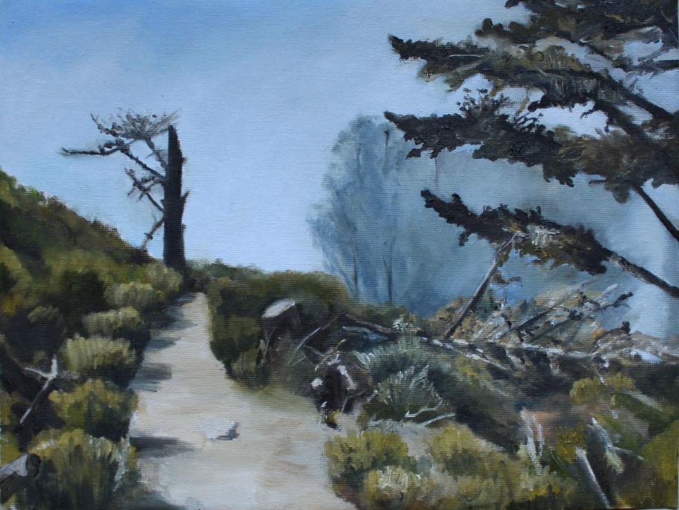 Path, Morro Bay