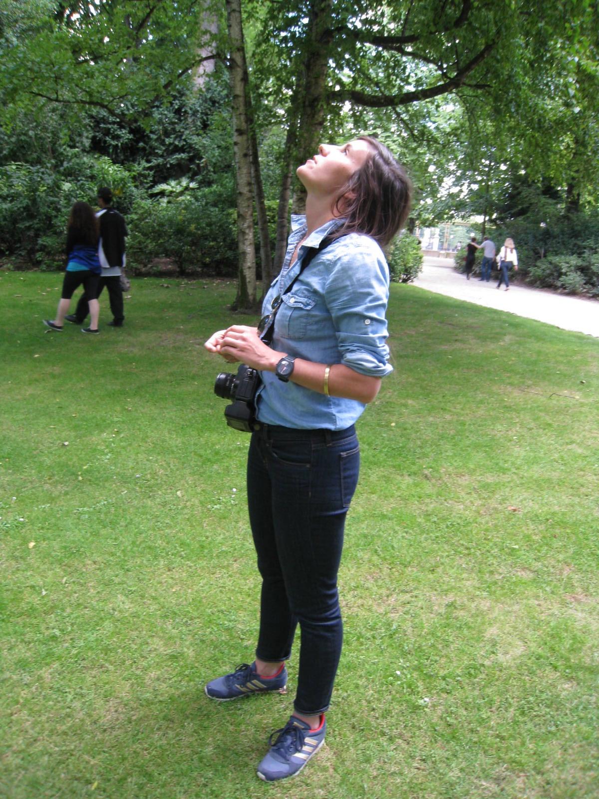 Katrina @ the Jardin de Luxembourg