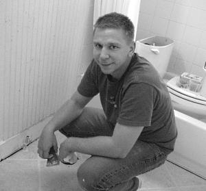 I also fix bathrooms.