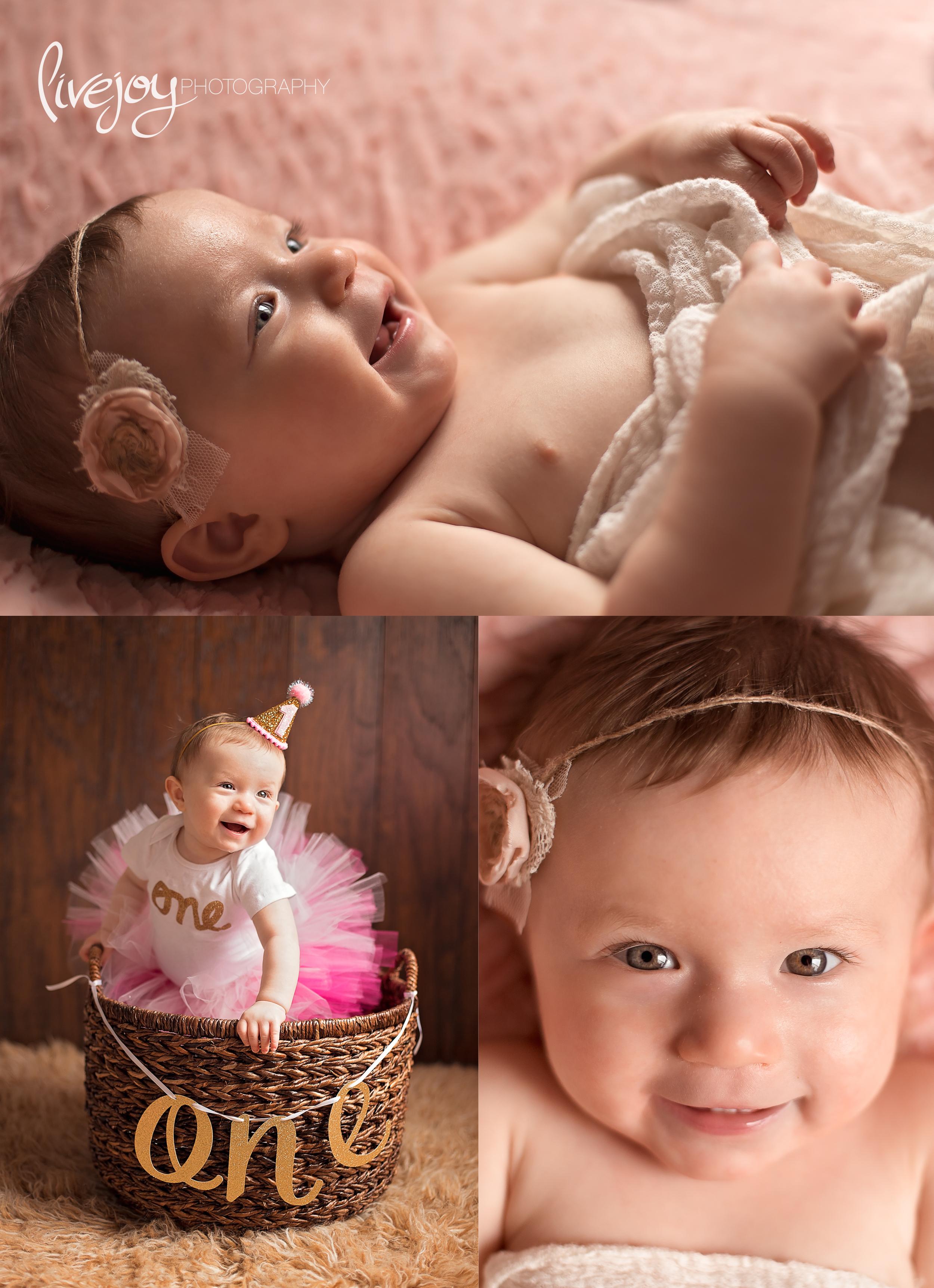1 Year Baby Photography | Oregon | LiveJoy Photography