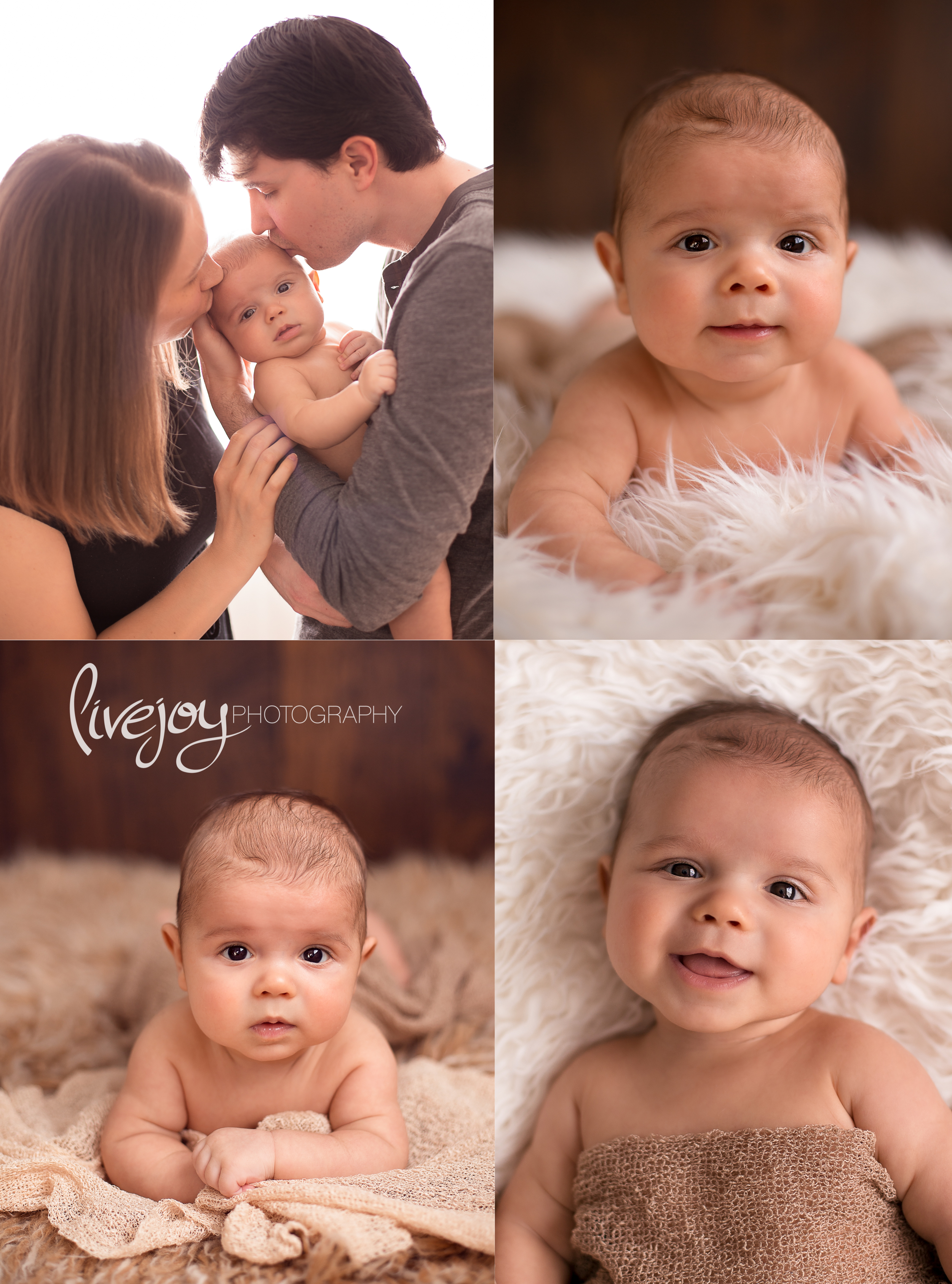 3 Months | Baby Photos | LiveJoy Photography in Oregon