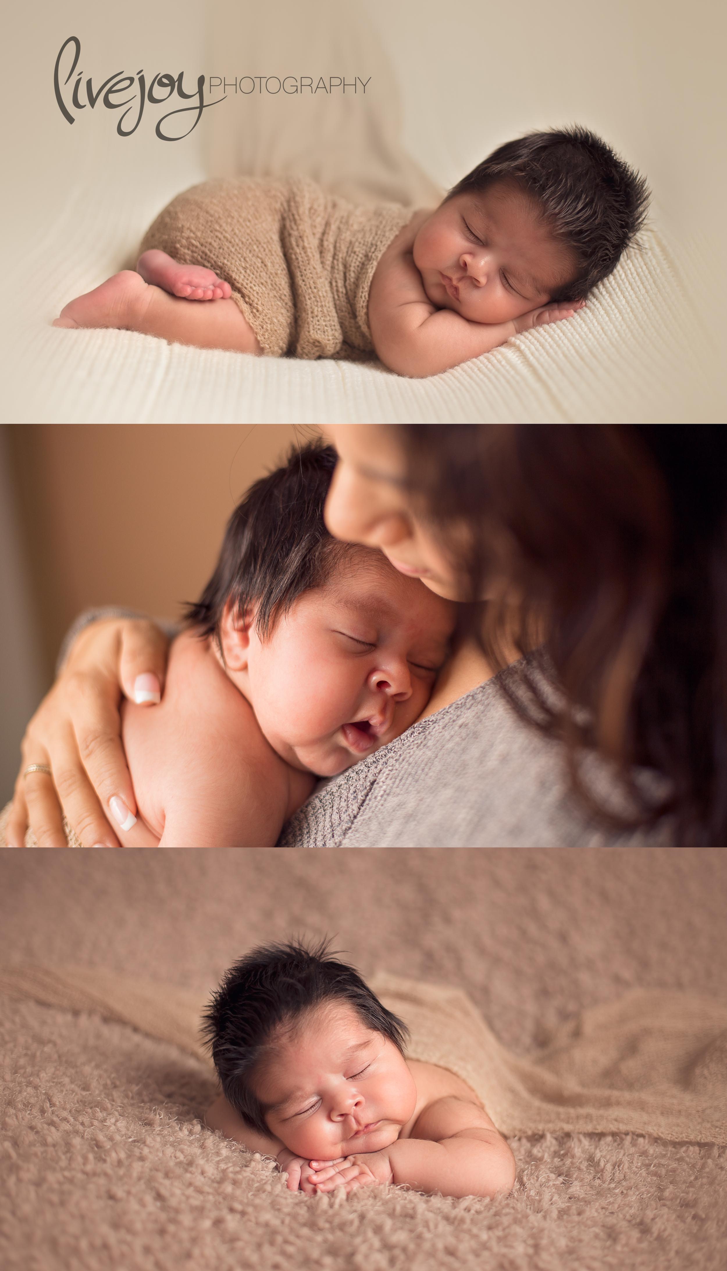 1 Month | Newborn Photograph | Oregon | LiveJoy Photography