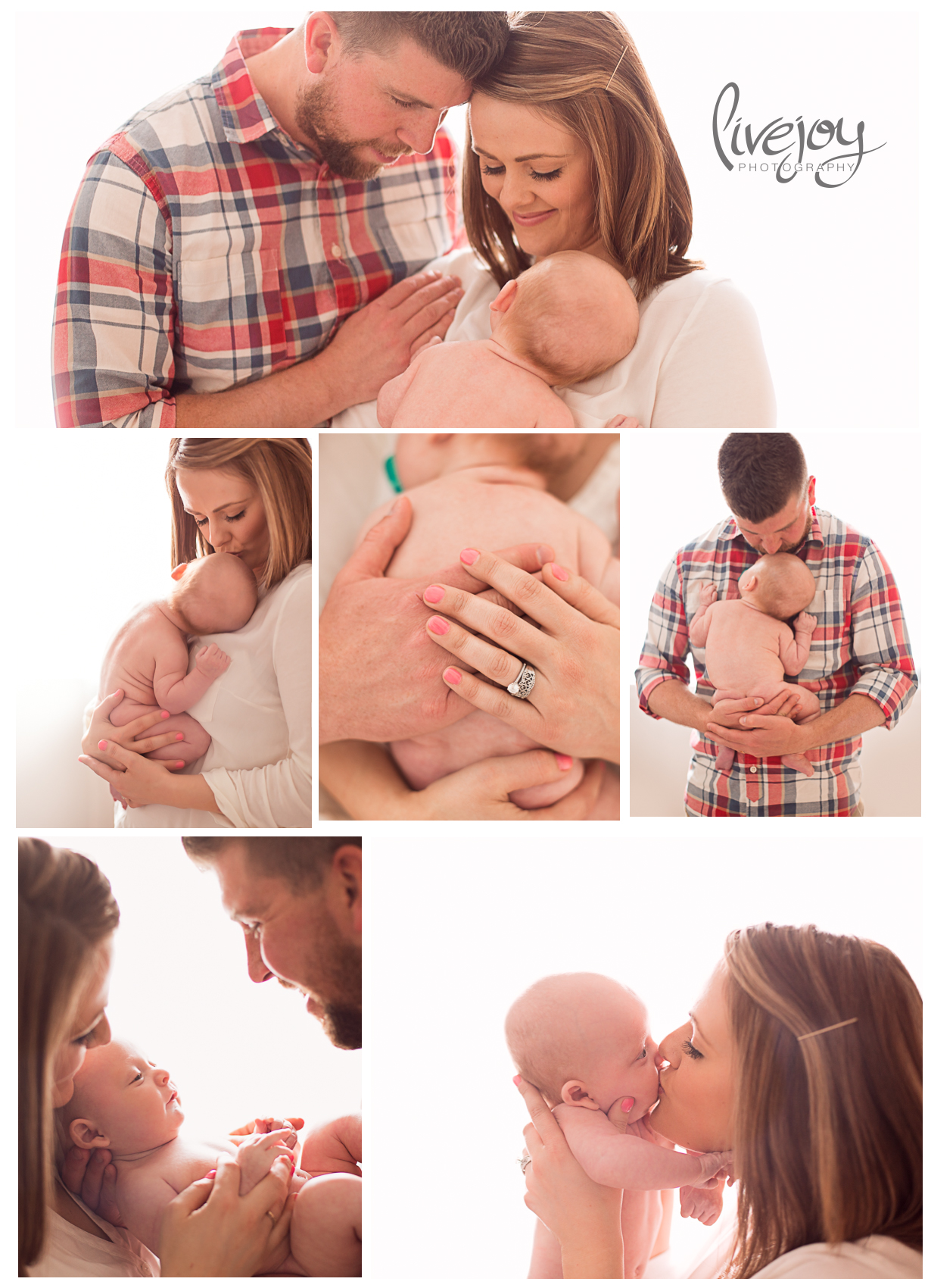 Baby Photos with Family   LiveJoy Photography