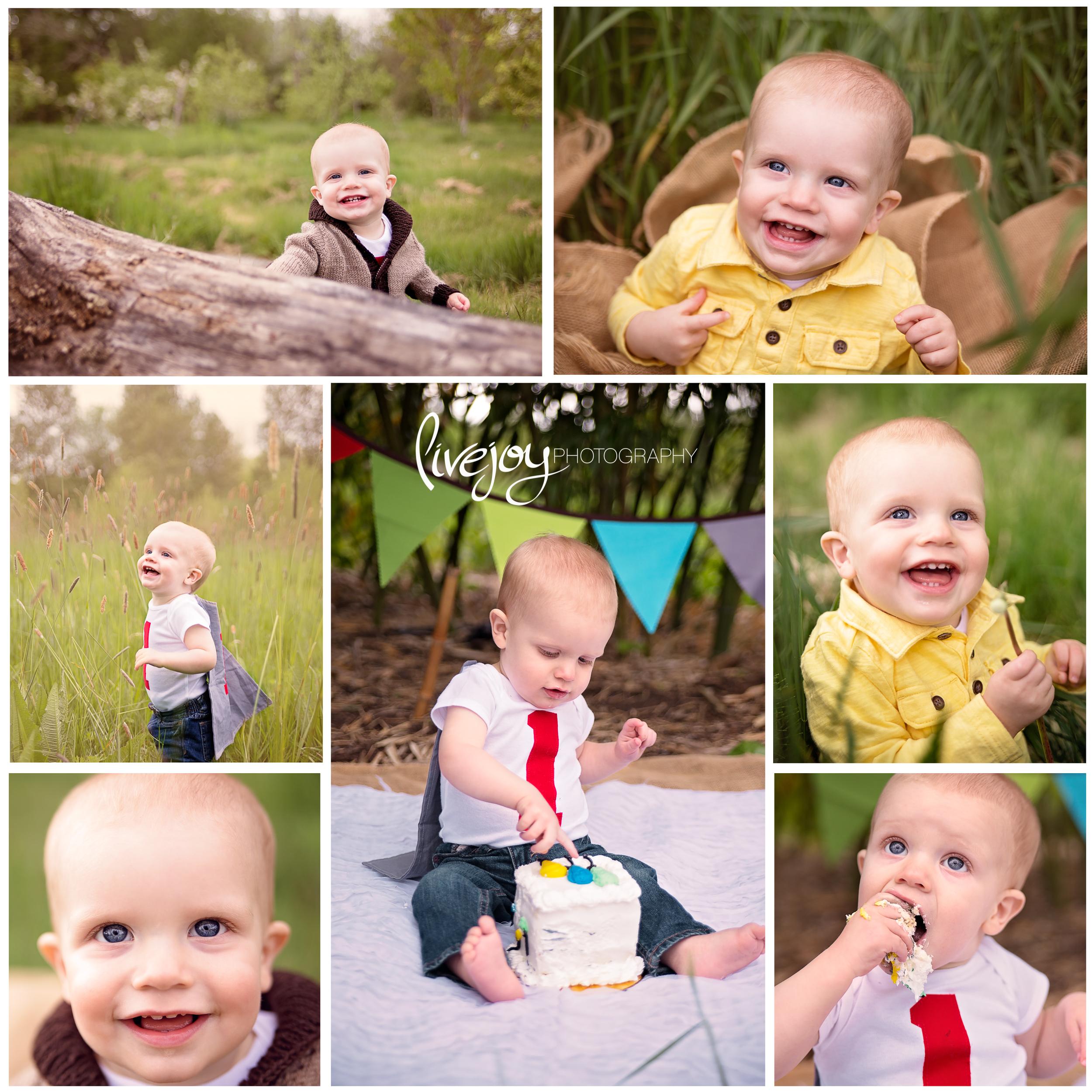 One Year Cake Smash | LiveJoy Photography | Oregon