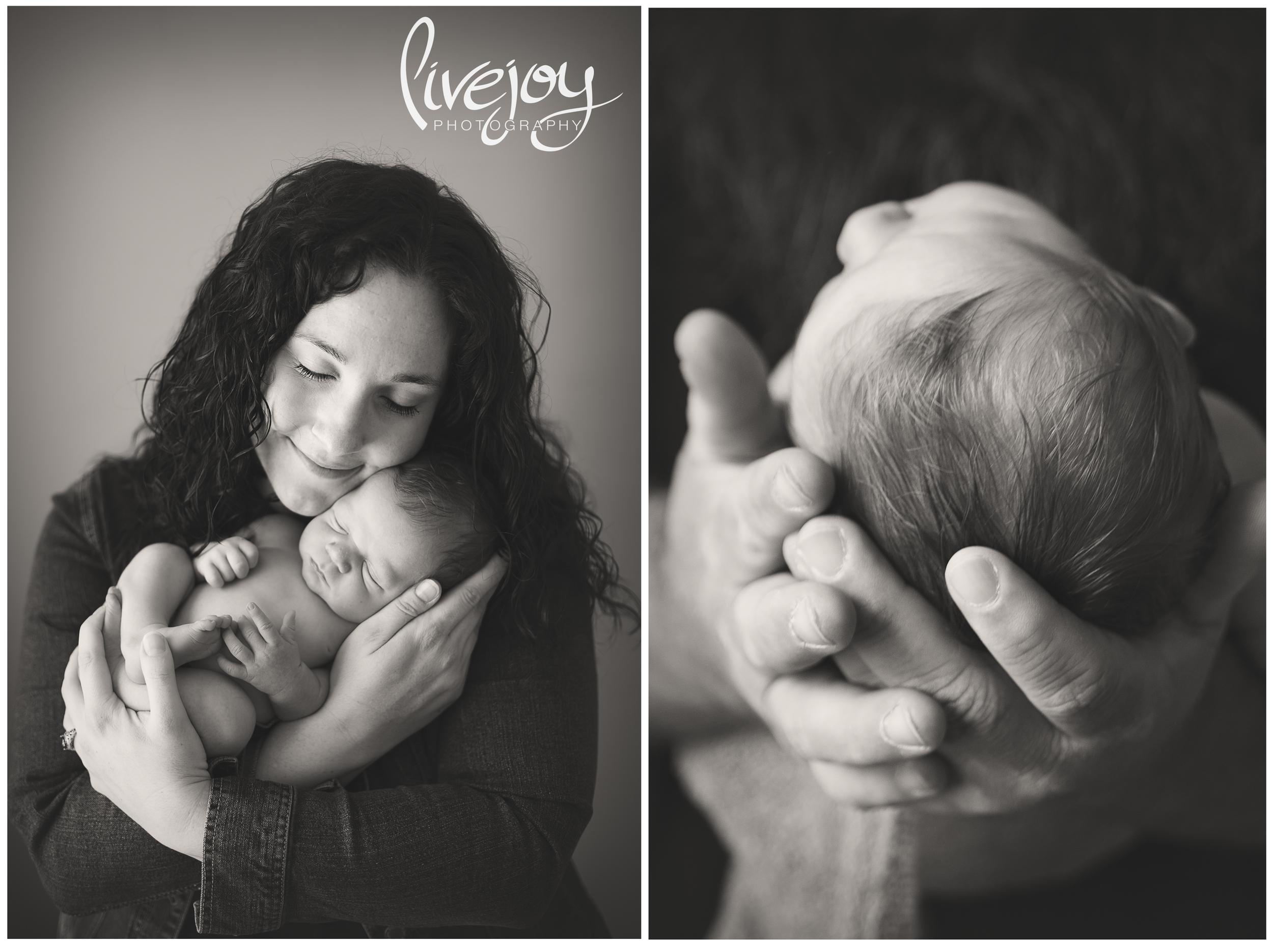 Newborn Parents Photography | Salem, Oregon | LiveJoy Photography