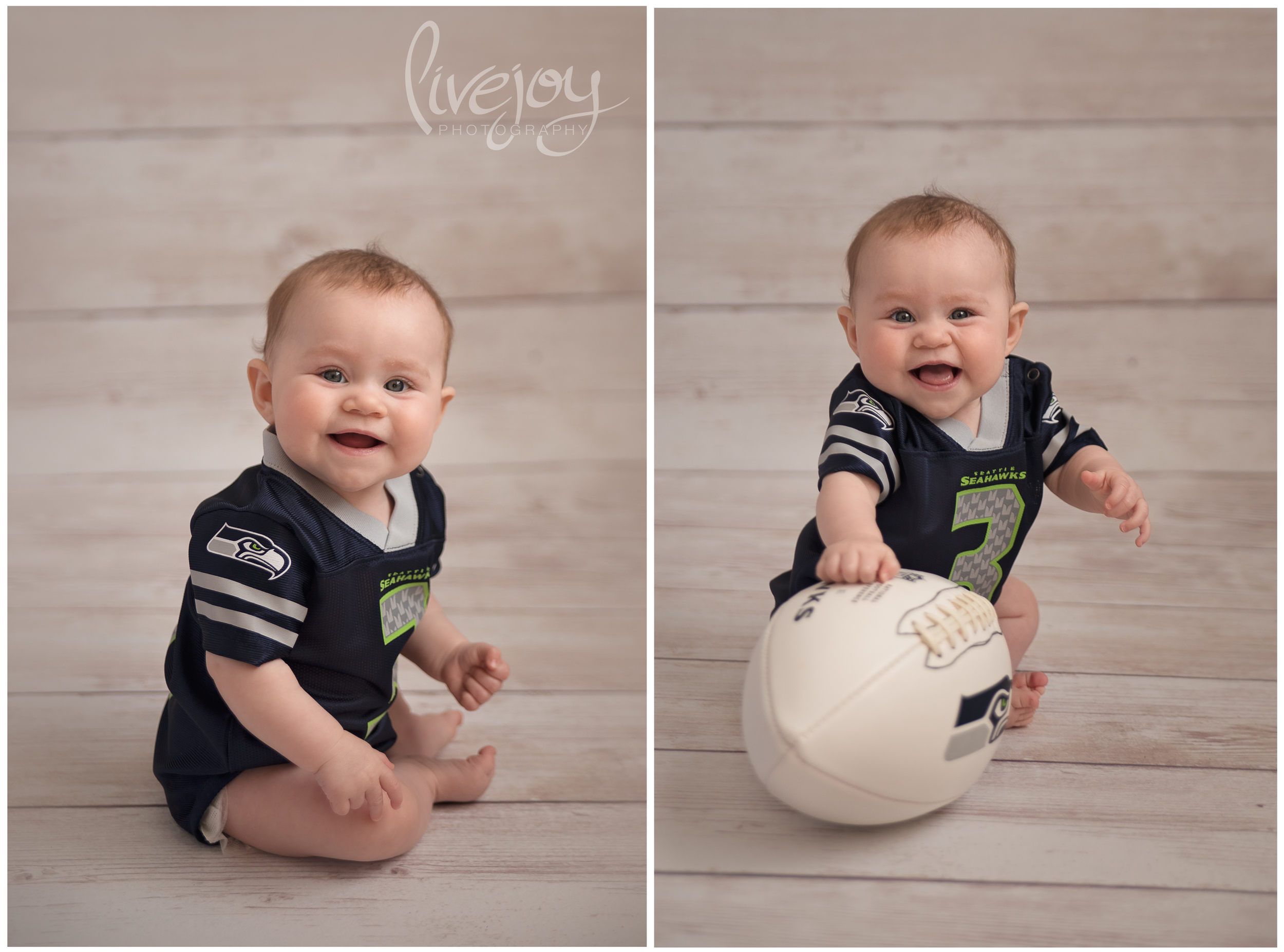 Baby Milestone - 6 Months - LiveJoy Photography