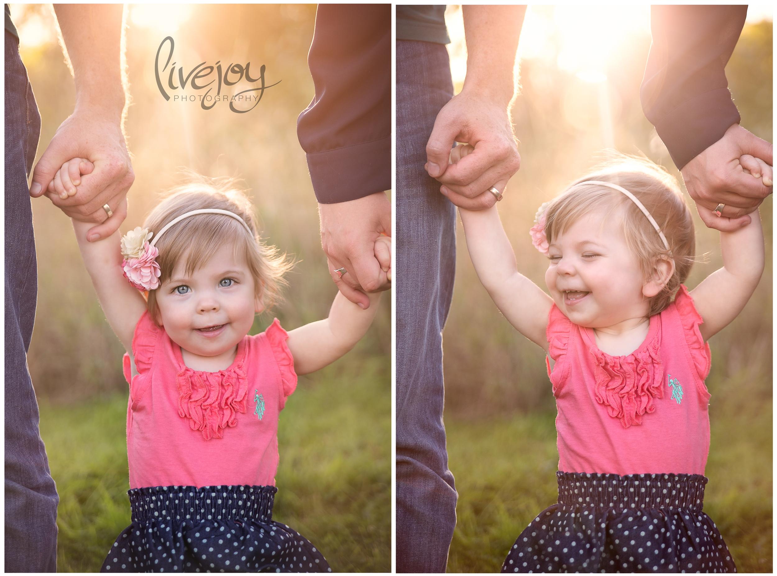 1 Year Baby Milestone Session |  LiveJoy Photography | Oregon