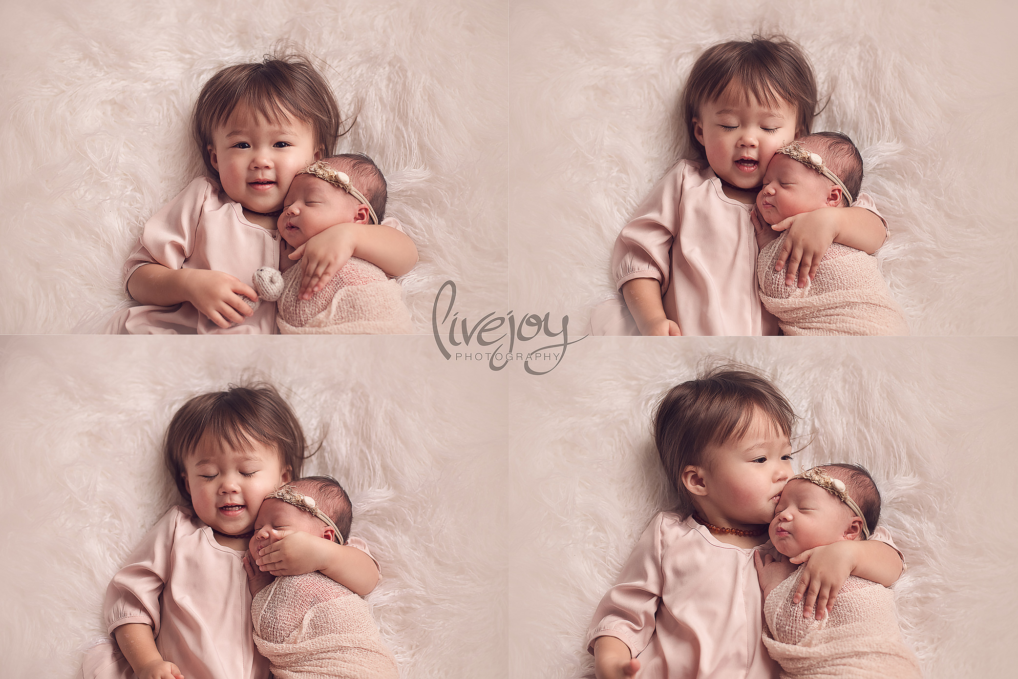 Newborn Photography with Siblings | LiveJoy Photography
