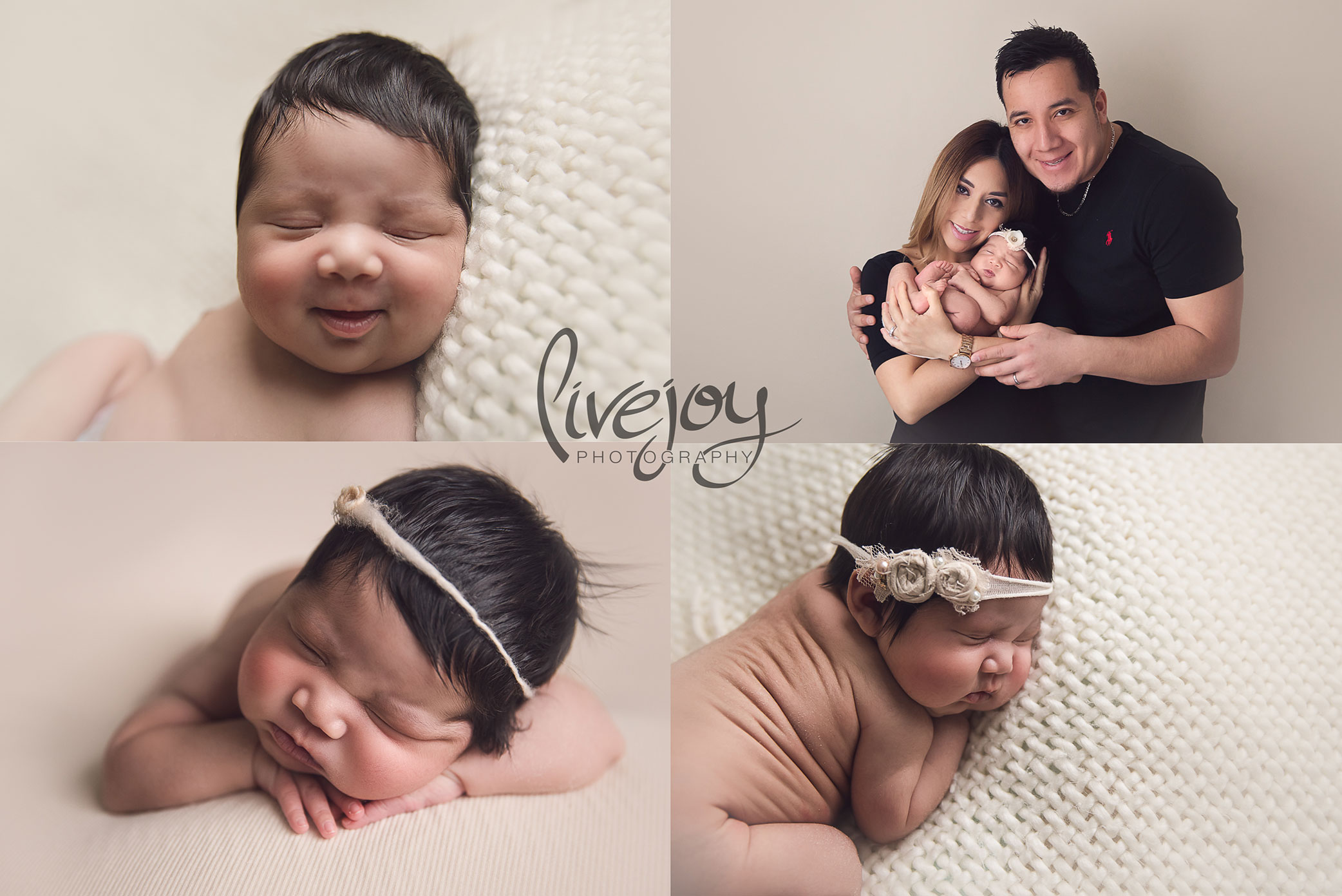 Baby Girl Newborn Photos | Oregon | LiveJoy Photography
