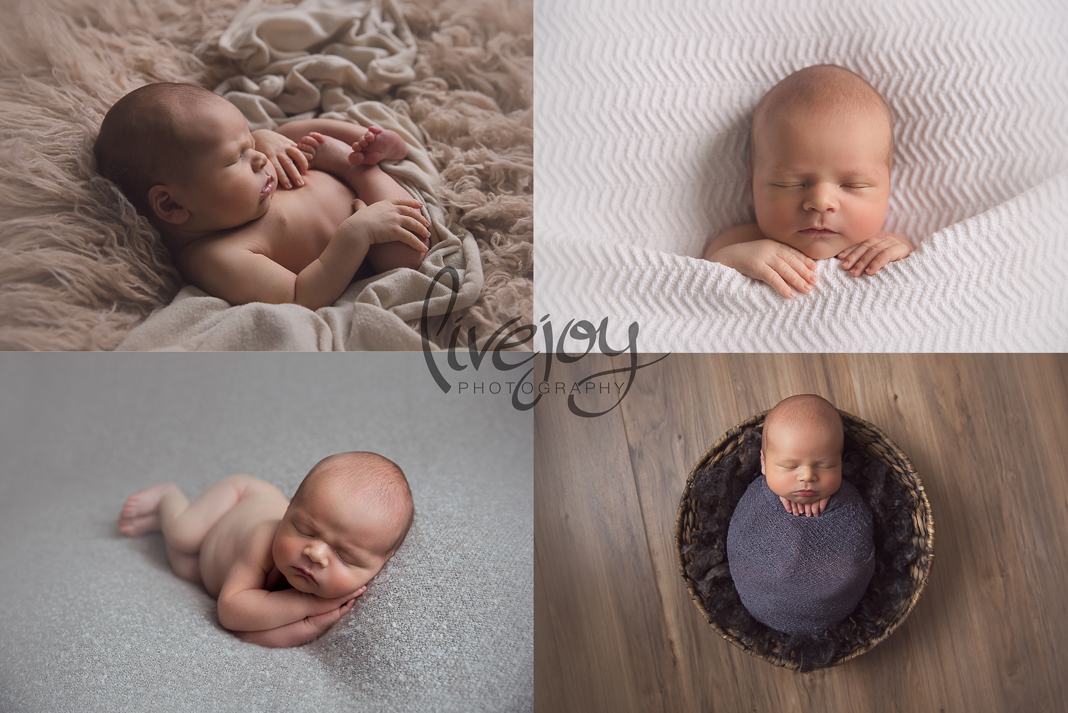 Baby Boy Newborn Photos | Oregon | LiveJoy Photography