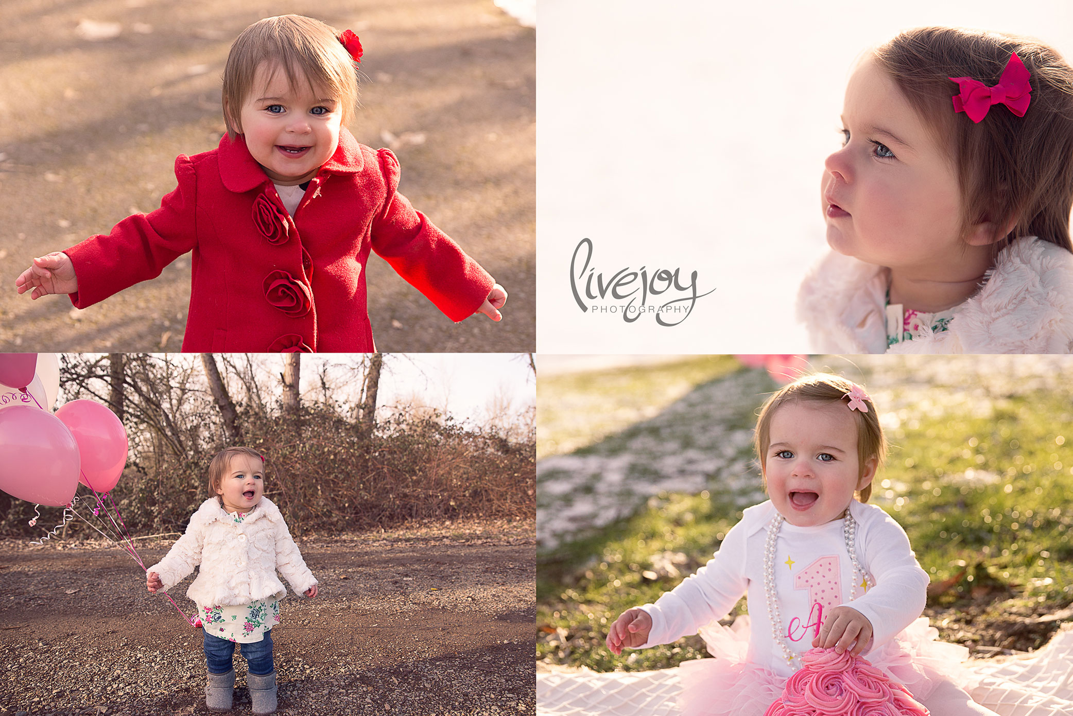 1 Year Baby Photos and Cake Smash | Oregon | LiveJoy Photography