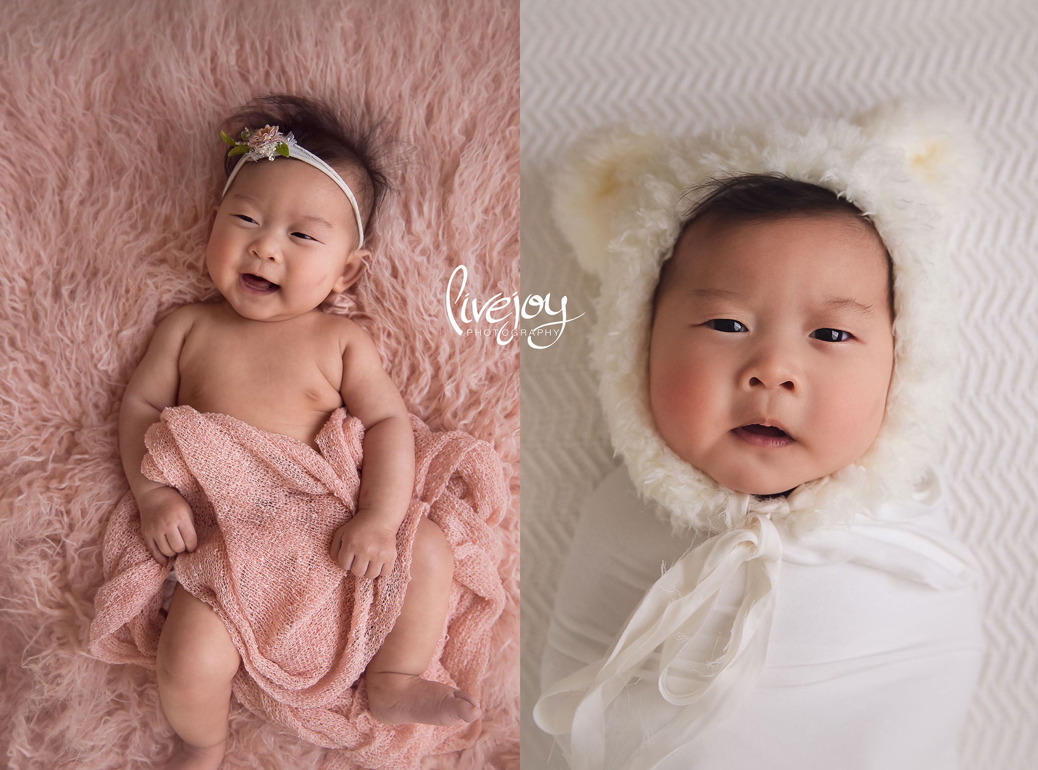 4 Months Baby Girl Photography | LiveJoy Photography | Oregon