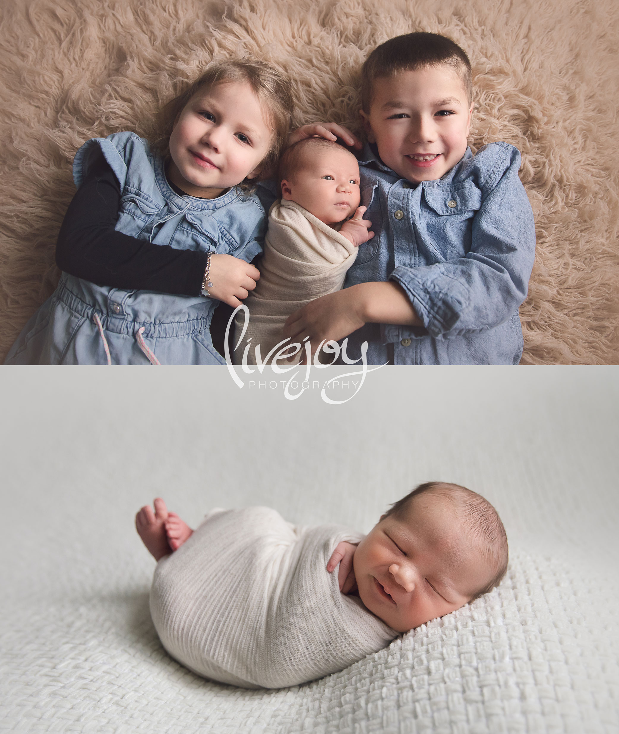 Newborn Sibling Photography | LiveJoy Photography | Oregon