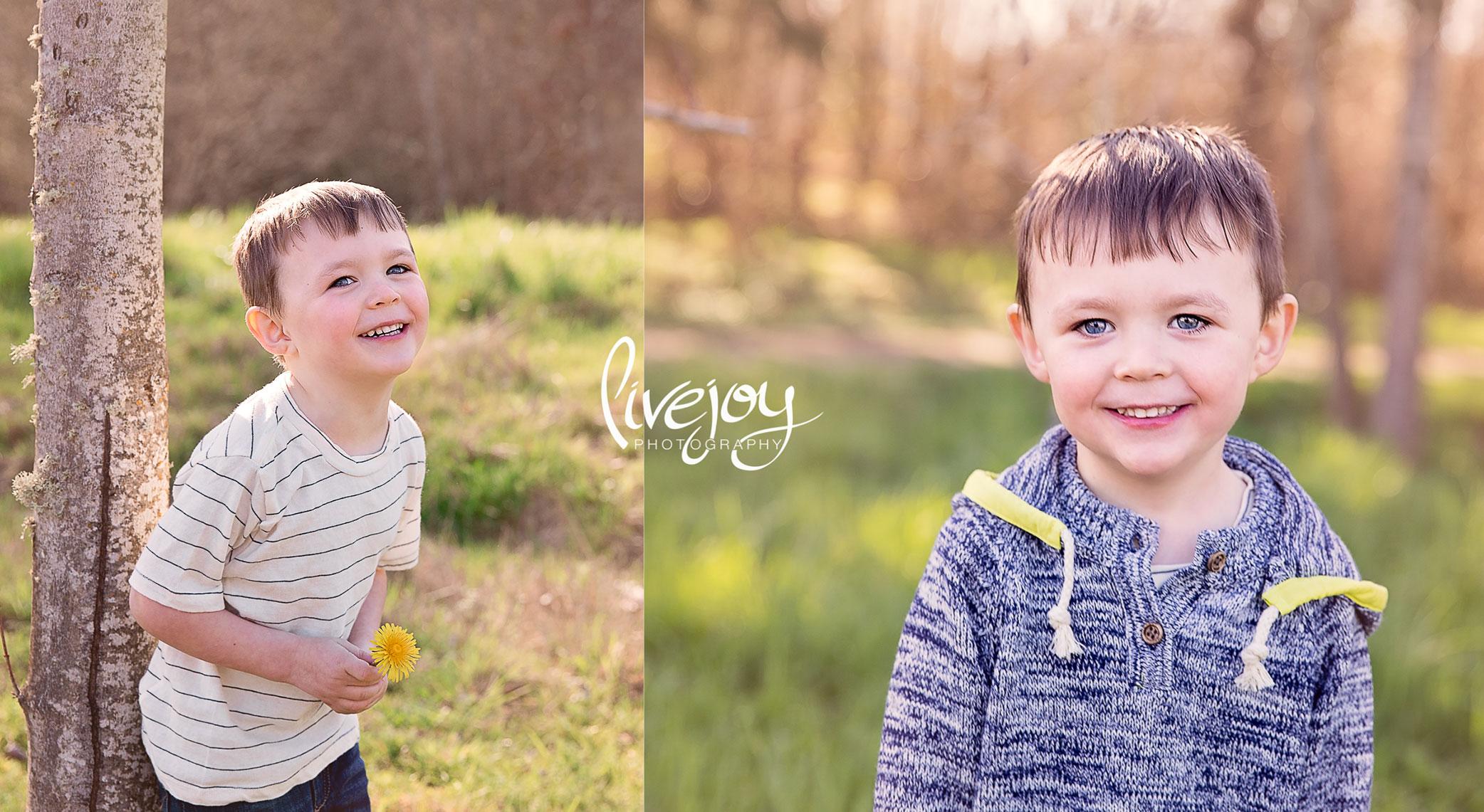 3 Year old Toddler Photos | Oregon | LiveJoy Photography