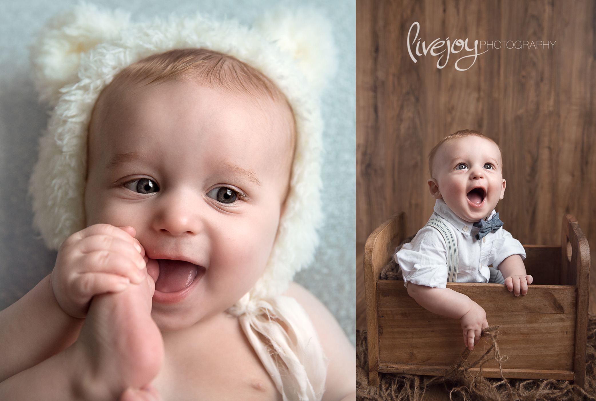 6 Months Baby  Photography | Oregon | LiveJoy Photography