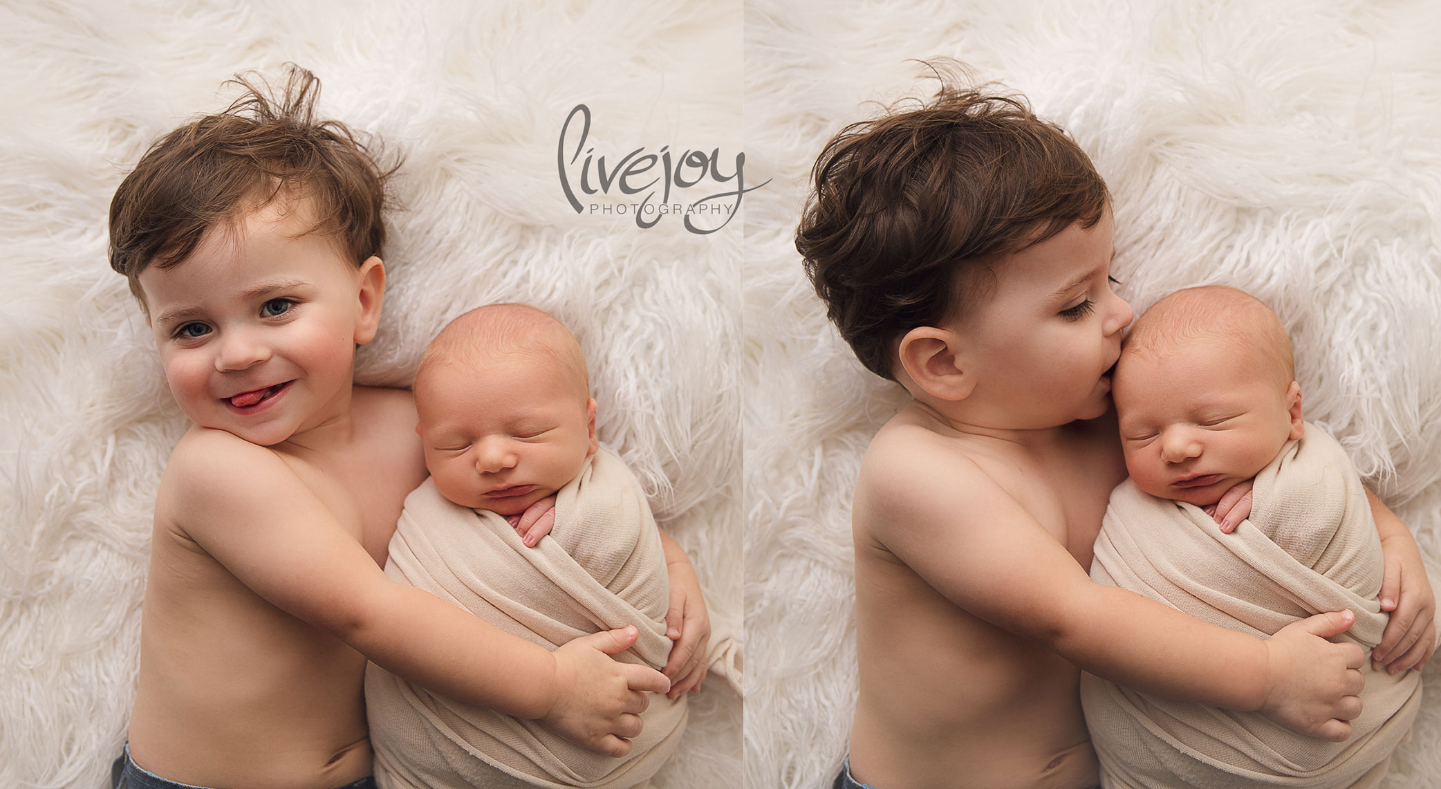 Sibling Newborn Photography | Oregon | LiveJoy Photography