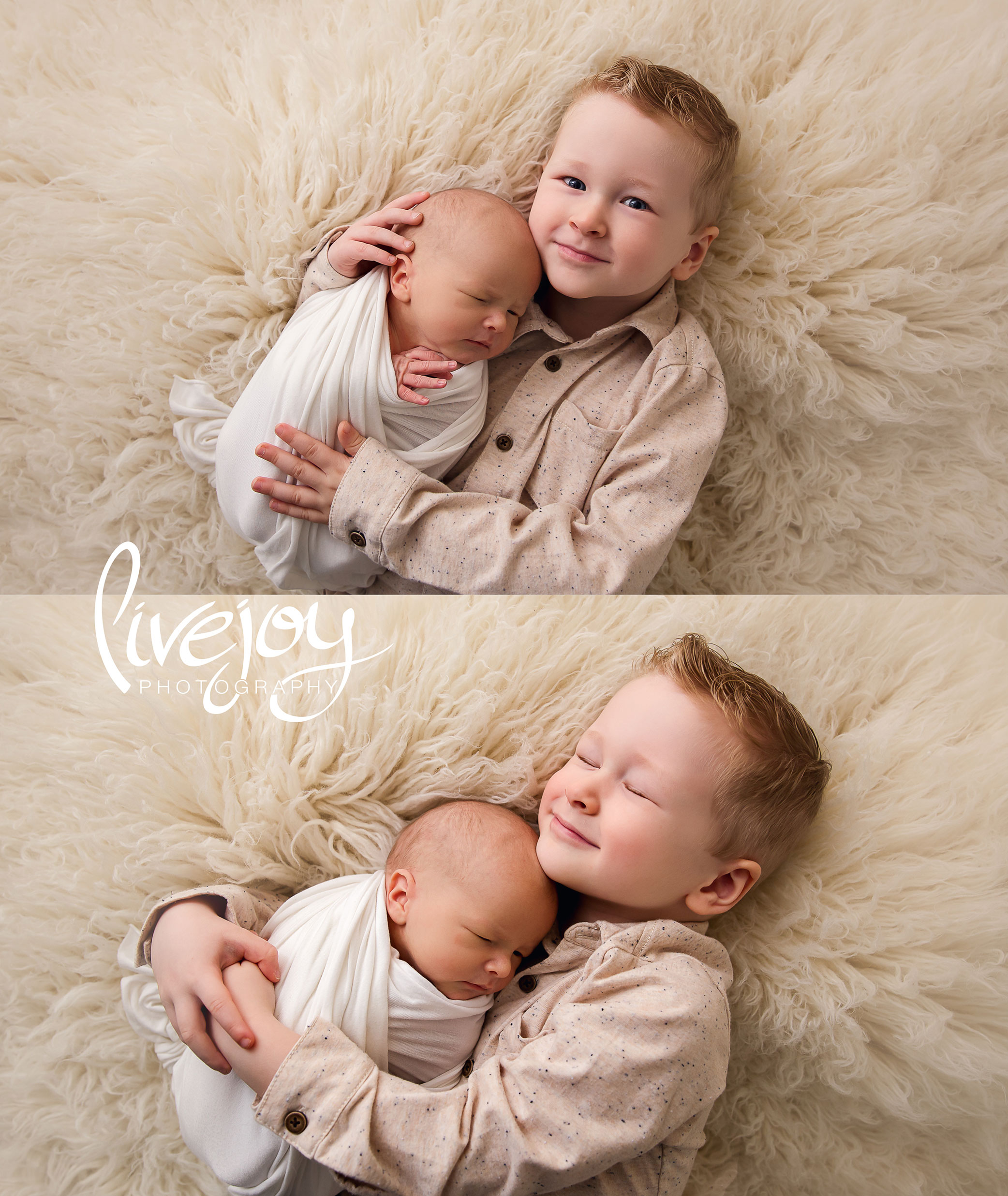 Sibling Newborn Photography | Oregon