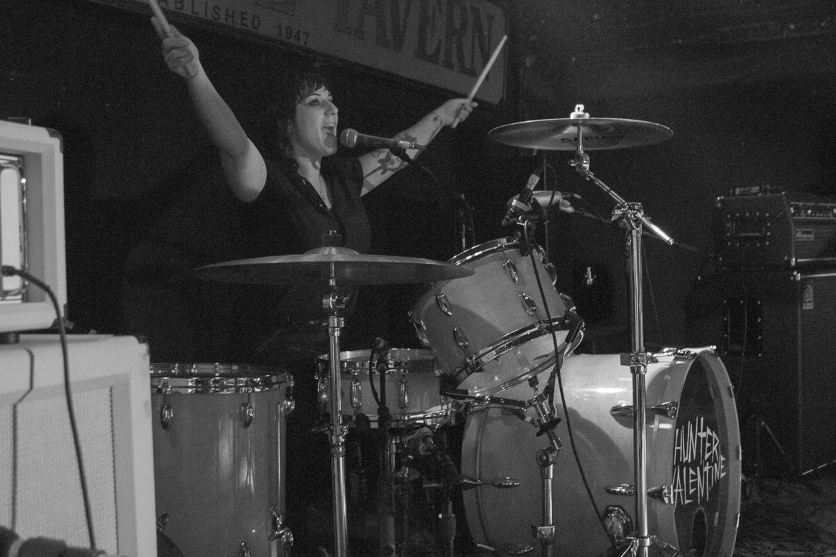 HUNTER VALENTINE, COLLIDE AND CONQUER TOUR, 2012.