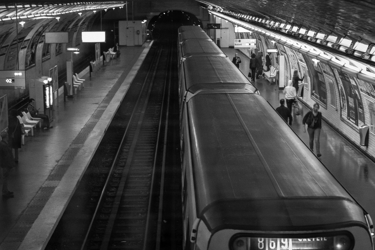 Projective Space Series by Liam Philley (liamphilley.com) -- metro train and tunnel.jpg