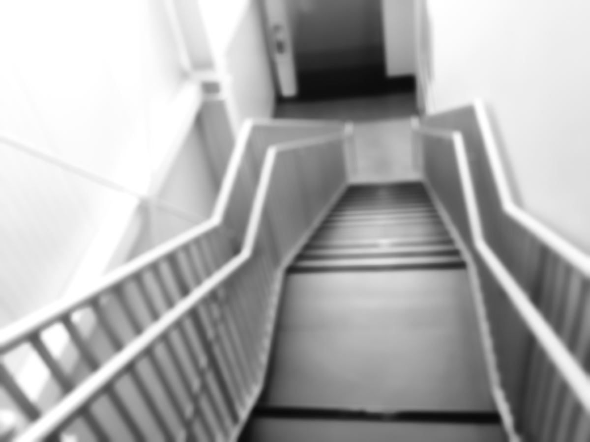 Projective Space Series by Liam Philley (liamphilley.com) -- stairs going down.jpg