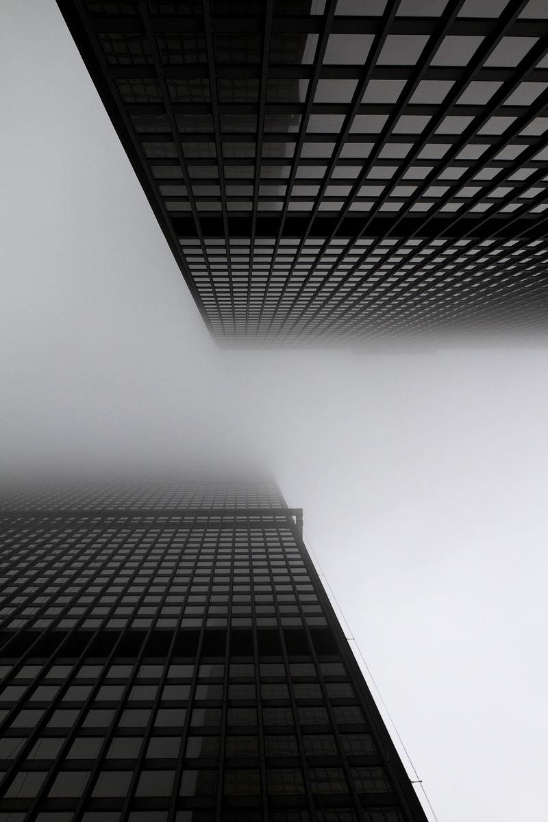 Projective Space Series by Liam Philley (liamphilley.com) -- td centre in fog.jpg