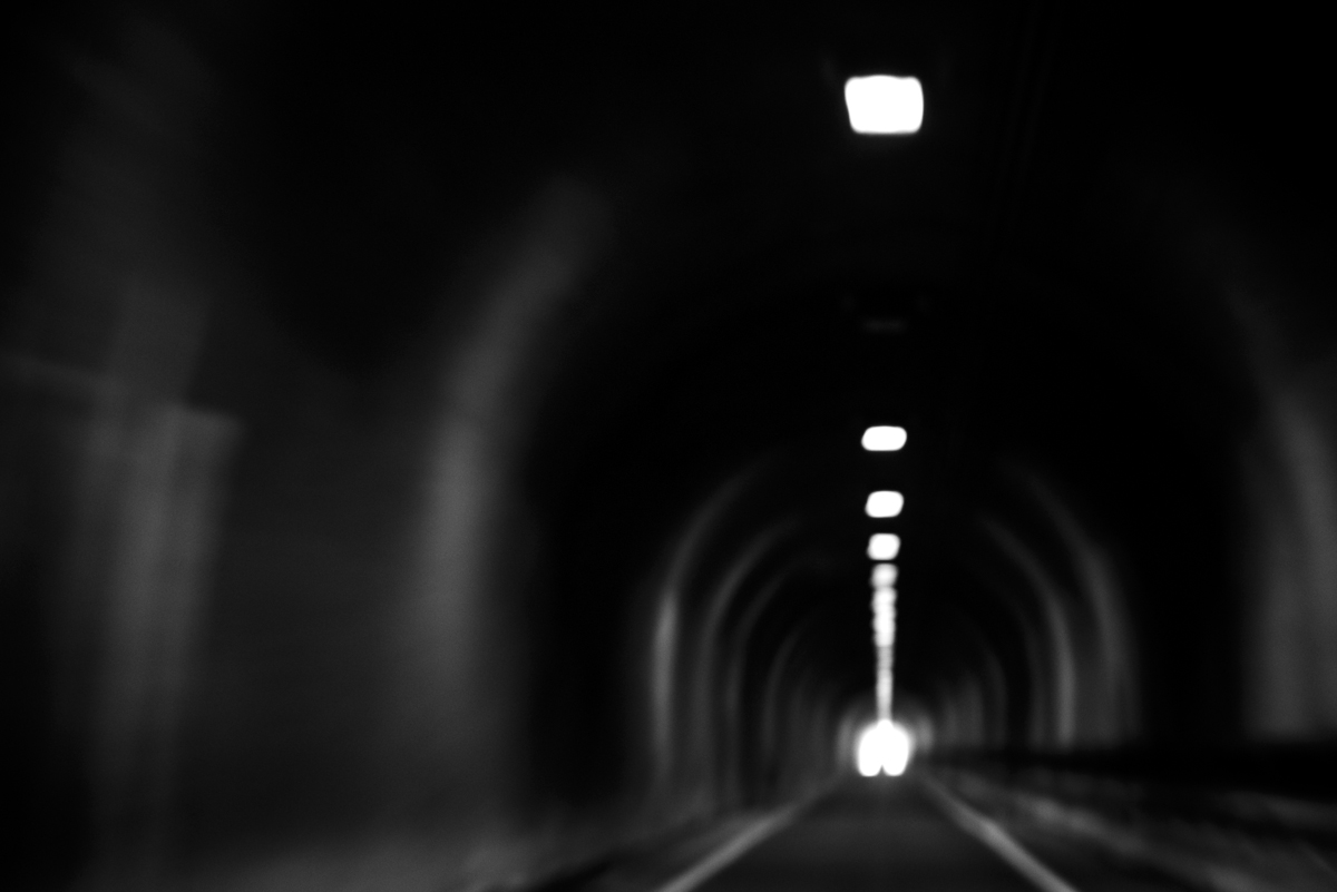 Projective Space Series by Liam Philley (liamphilley.com) -- tunnel under golden gate bridge access road.jpg