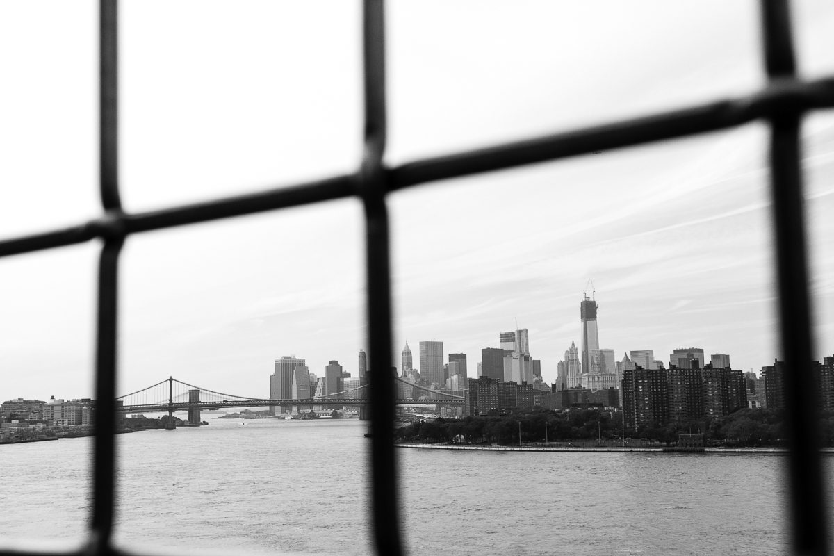 Lines In The Way Series by Liam Philley (liamphilley.com) -- tip of manhattan through bridge.jpg