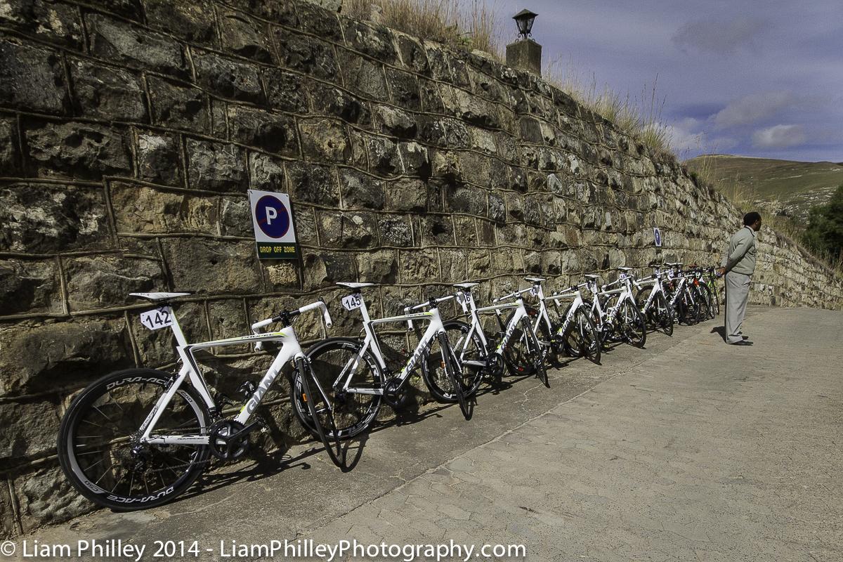 Team Abantu - standing guard over the bikes.jpg