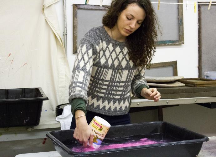 Preparing a vat of pulp @ Zenith