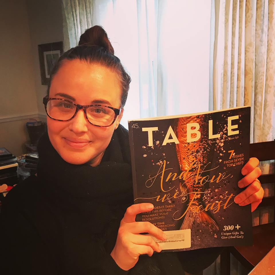 "Jordan's new book ""Write it Out"" was featured in Table Magazine!"