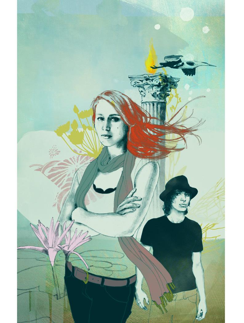 Teen Novel Book Cover