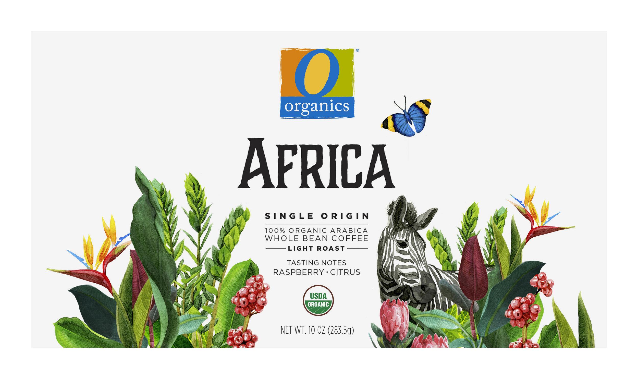 Coffee Packaging Series / Africa