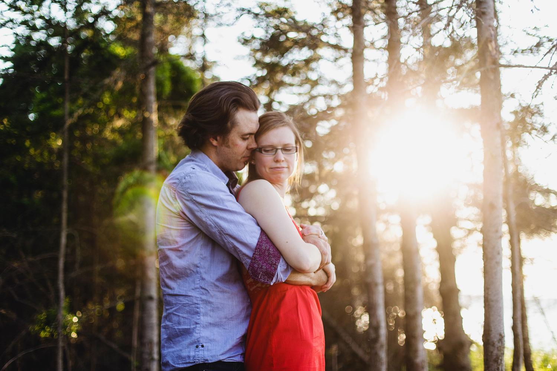 Iona Engagement Photo