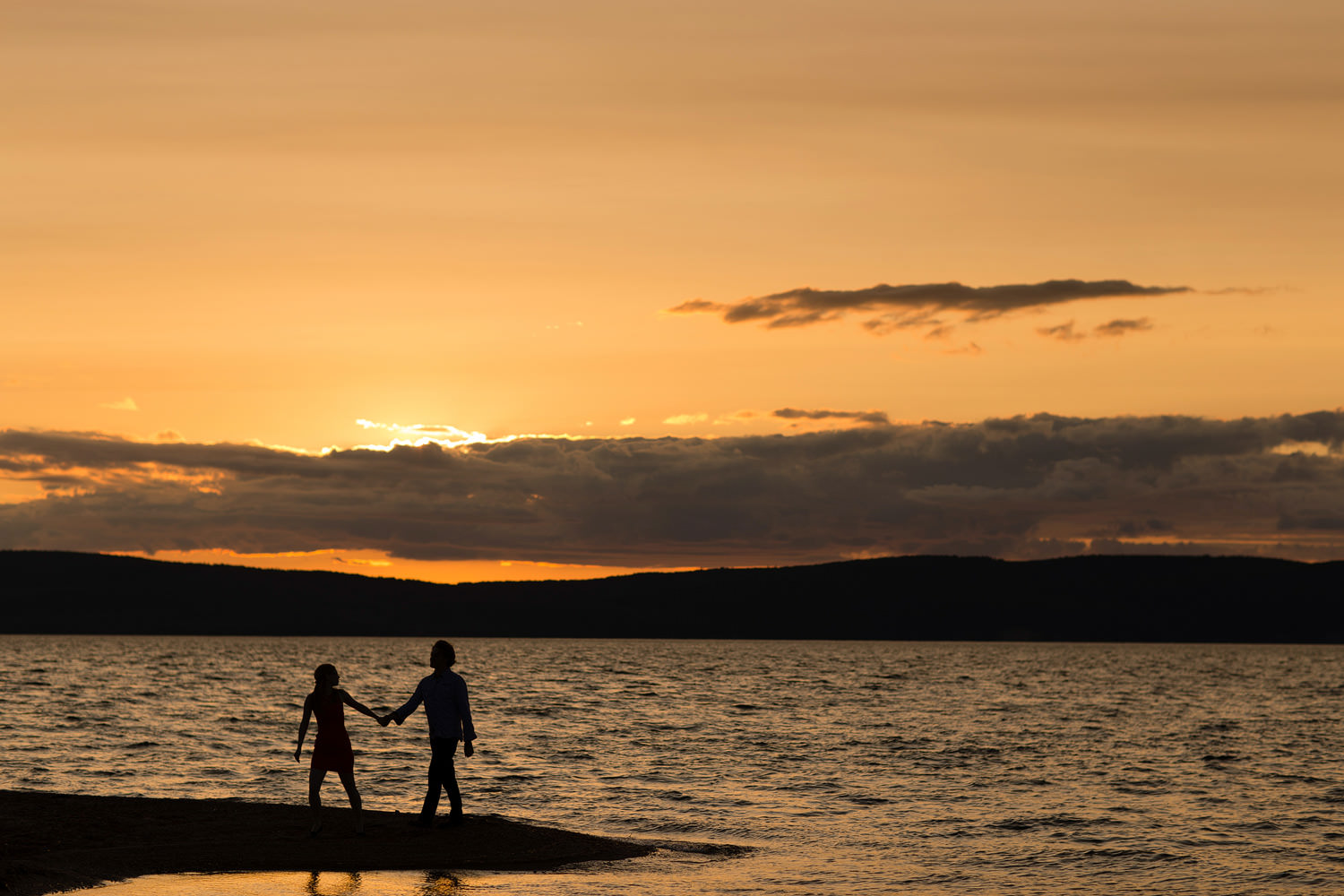 Cape Breton Engagement Photo