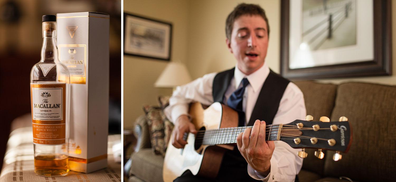 macallan scotch guitar player