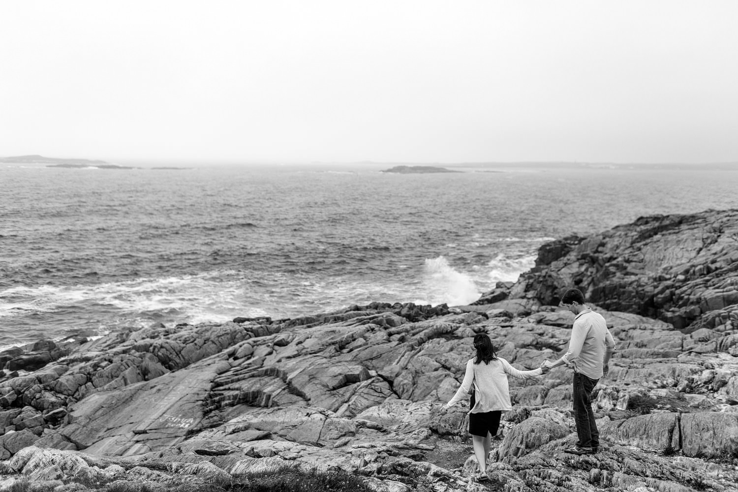 cape breton engagement photography louisbourg