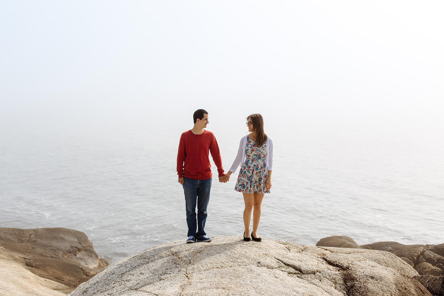 herring cove engagement
