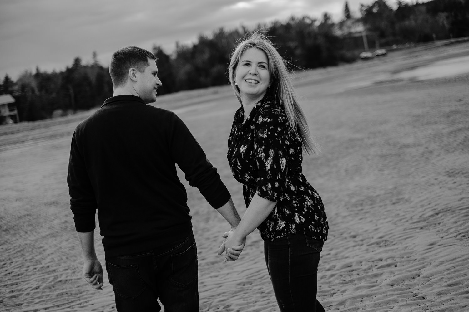 mira cape breton engagement session
