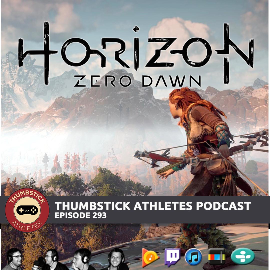 Horizon Zero Dawn podcast episode cover image