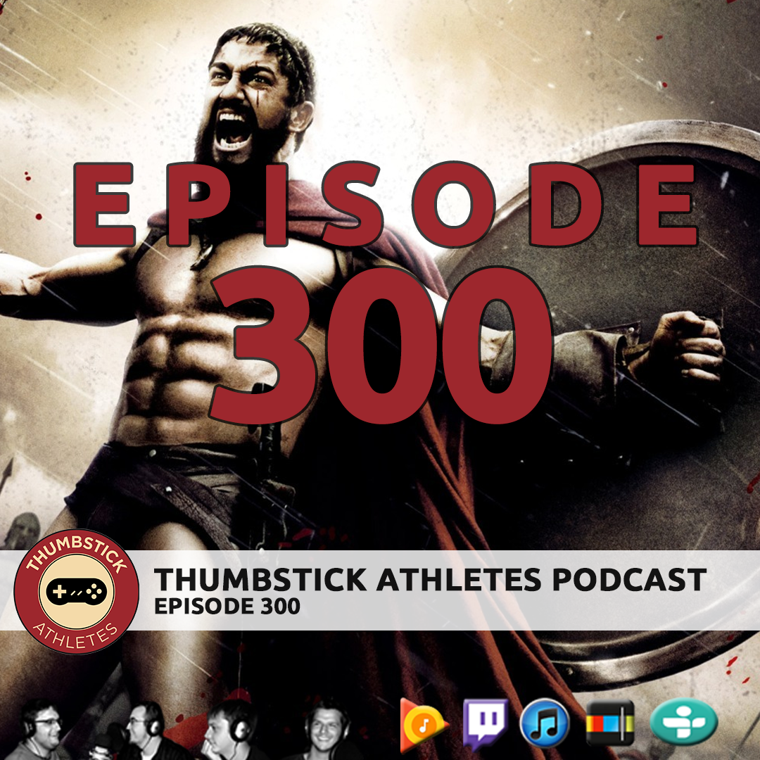 Podcast episode 300 cover image