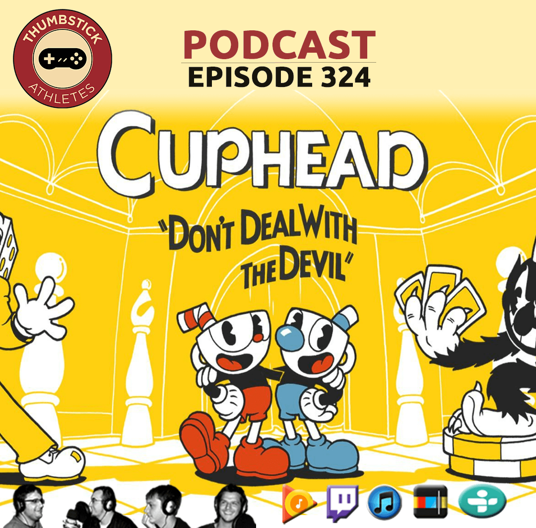 Cuphead podcast episode cover image