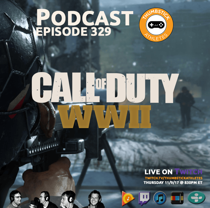 Call of Duty: WWII podcast episode cover image