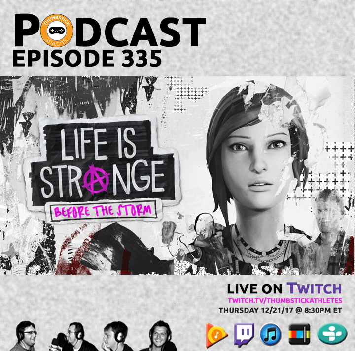 Life is Strange: Before the Storm podcast episode cover image
