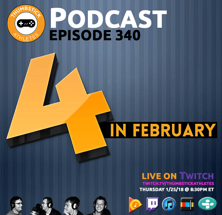 Four in February podcast episode cover image