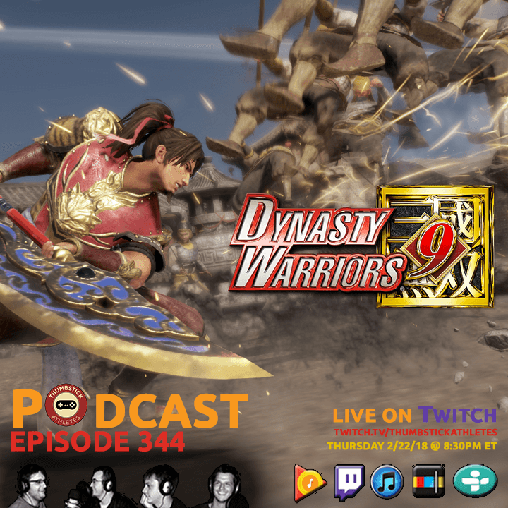 Dynasty Warriors 9 podcast episode cover image