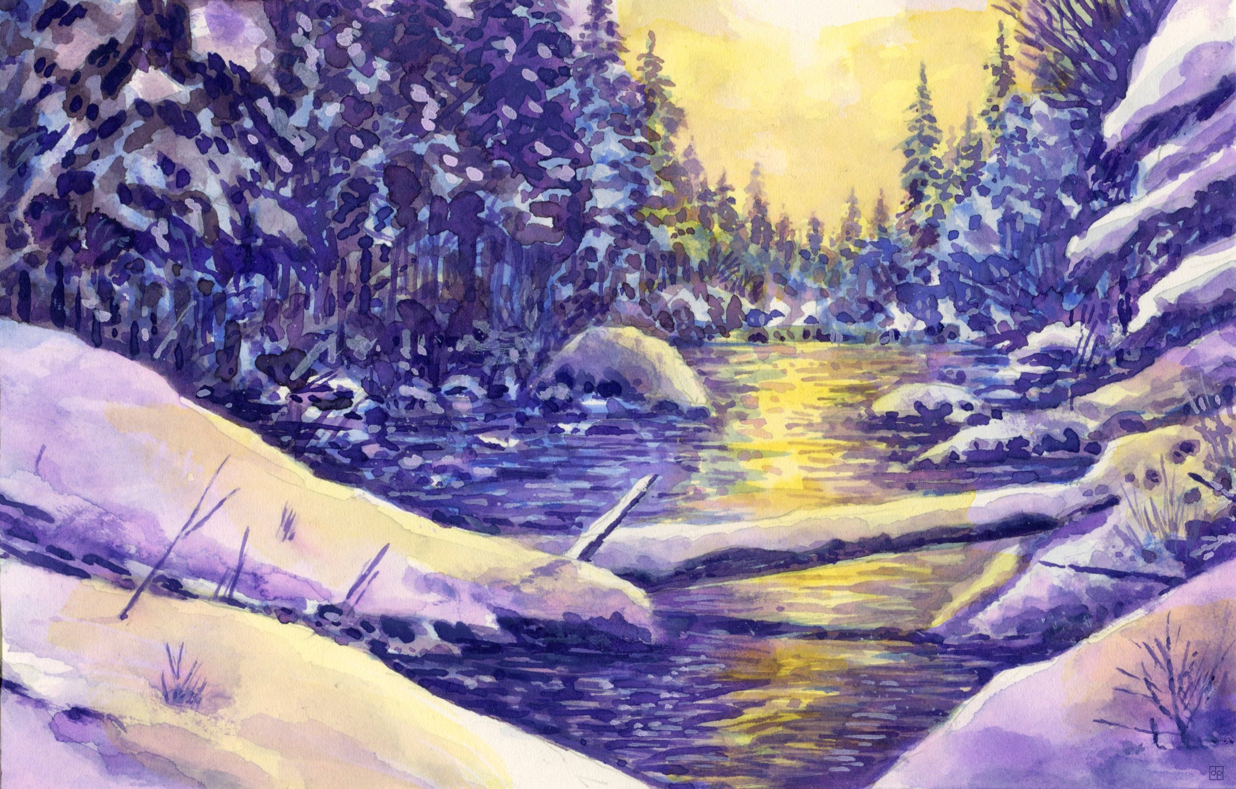 Rivière enneigée.jpg