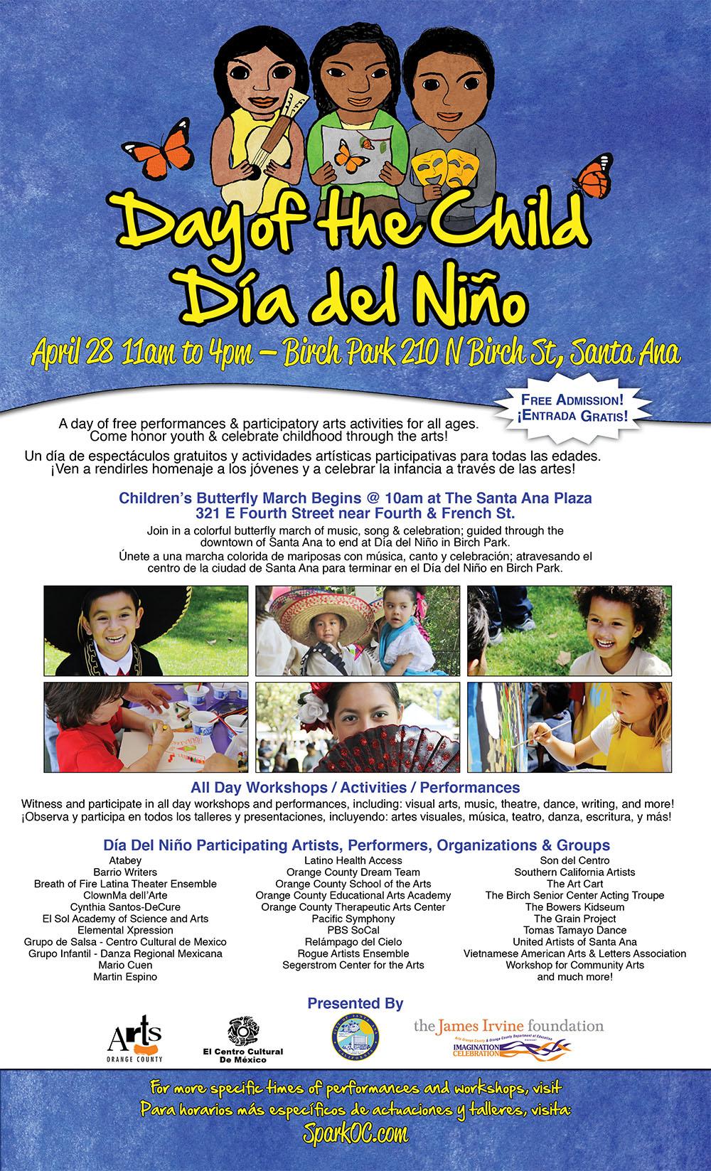 Día Del Niño Flyer (Front)