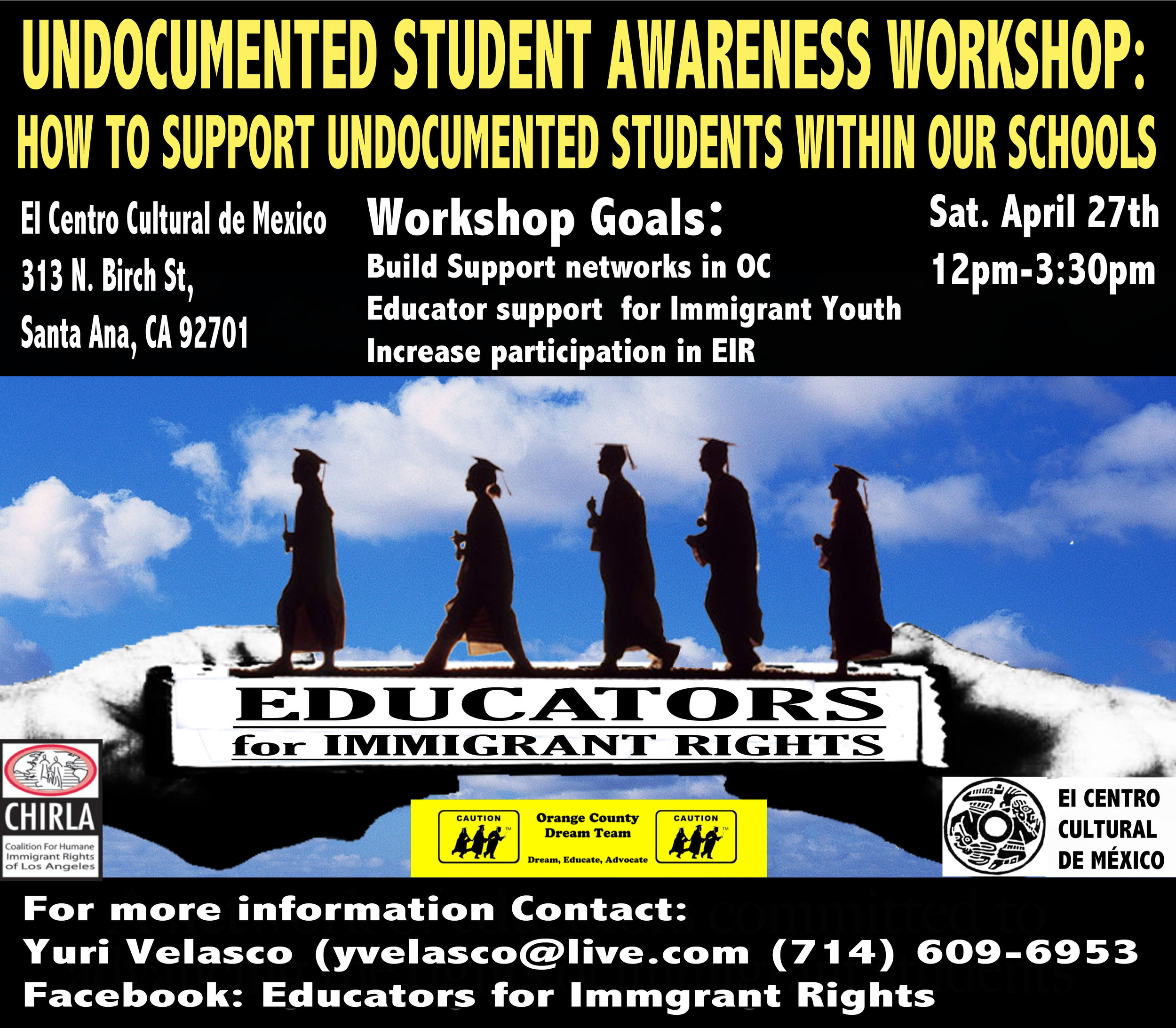 Undocumented Student Awareness Workshop