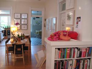 My home studio set up for Open Studios Boulder 2009
